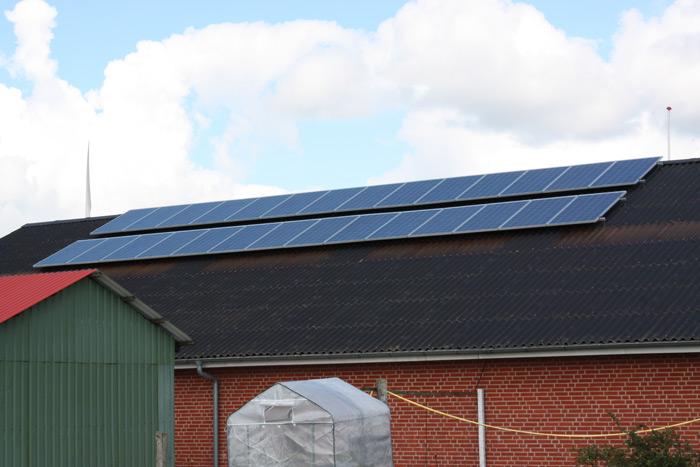 6,2 kW solcelleanlæg Gesten