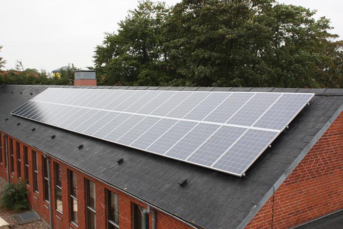 10,3 kW solcelleanlæg Brørup