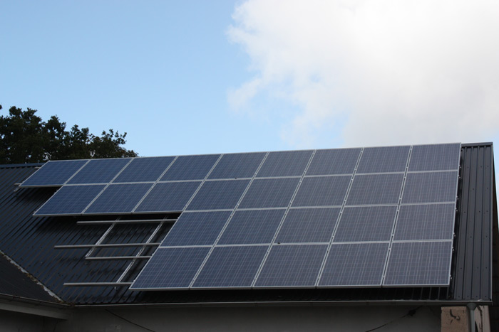 6,6 kW solcelleanlæg Gesten