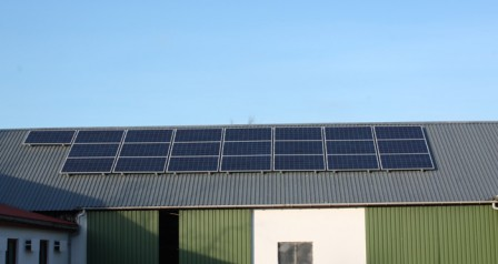 5,2 kW solcelleanlæg Gesten