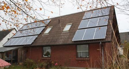 6,3 kW solcelleanlæg Henne