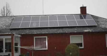 4,2 kW solcelleanlæg Bække