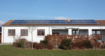 6,3 kW solcelleanlæg Brørup