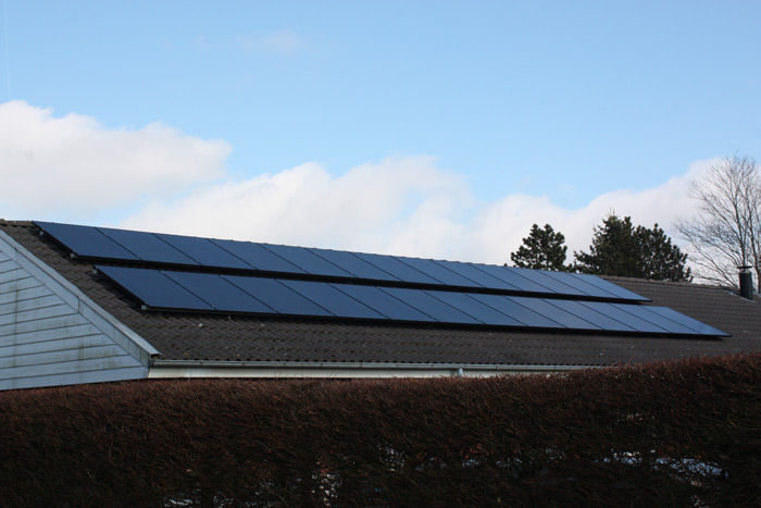 6,5 kW solcelleanlæg Brørup