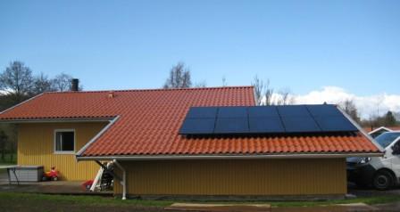 2,5 kW solcelleanlæg Kolding
