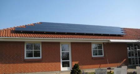 6 kW solcelleanlæg Vejen