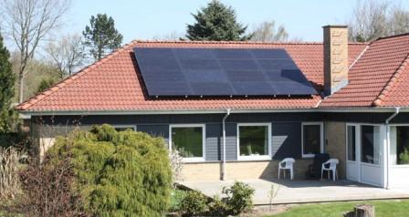 4 kW solcelleanlæg Brørup