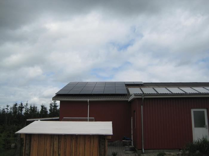 5 kW solcelleanlæg Gesten
