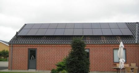 6 kW solcelleanlæg Gredstedbro