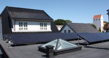 5 kW solcelleanlæg Brørup
