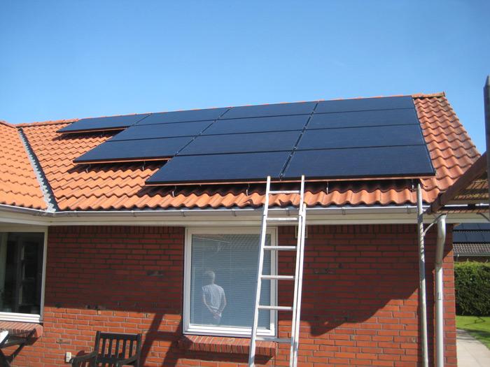 3 kW solcelleanlæg Brørup
