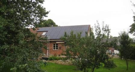7,5 kW solcelleanlæg Vejen