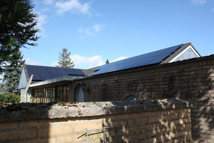 7,5 kW solcelleanlæg Brørup