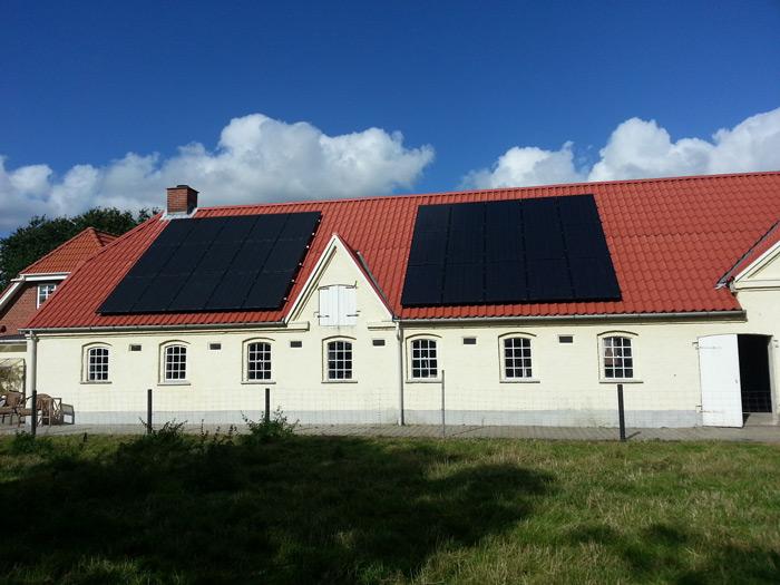 7,5 kW solcelleanlæg Årre