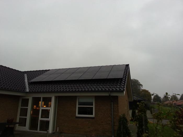 3,5 kW solcelleanlæg Bække