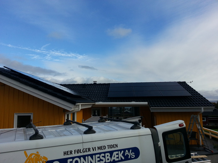 5 kW solcelleanlæg Sjølund