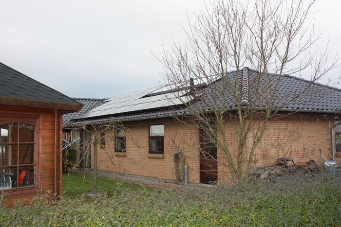 5 kW solcelleanlæg Vejen