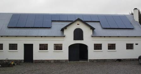 6 kW solcelleanlæg Bredsten