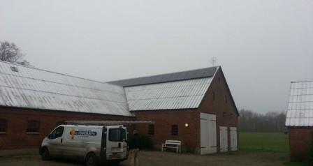 5,5 kW solcelleanlæg Holsted