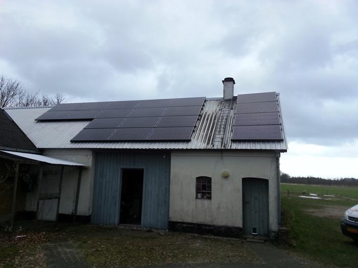 5 kW solcelleanlæg Vonge