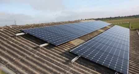 6 kW solcelleanlæg Holsted