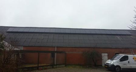 6 kW solcelleanlæg Grindsted