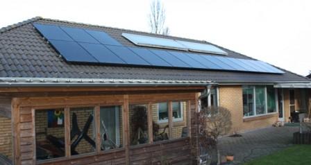 4 kW solcelleanlæg Vejen