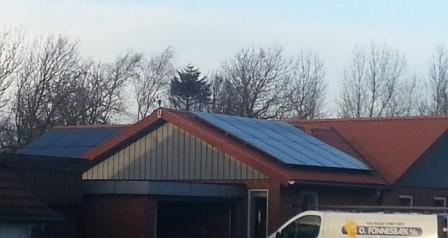 6 kW solcelleanlæg Bramming
