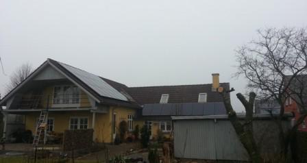 6,5 kW solcelleanlæg Vejen