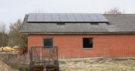 7,5 kW solcelleanlæg Bække