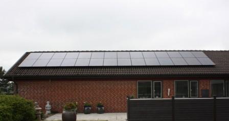 7 kW solcelleanlæg Brørup